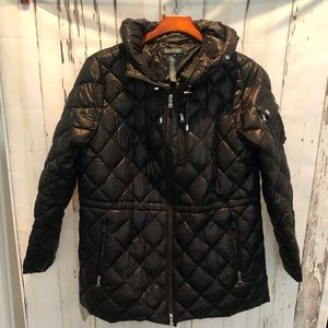 Polo Quilted Jacket - Petite Large